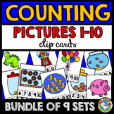 COUNTING PICTURES CENTERS 1-10 (PRE K + KINDERGARTEN COUNT