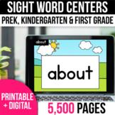 Digital Spelling Word Work Sight Word Practice Google Slides Spring Activities
