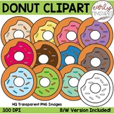 FLASH DEAL  - Donuts Clip Art by Early Finishers