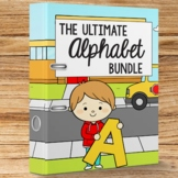 Phonics Letter of the Week Alphabet Tracing Worksheets 1250 Pages