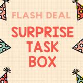 FLASH DEAL SURPRISE TASK BOX Special Education Preschool