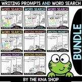 FLASH DEAL - Word Search & Writing Prompts - Seasonal Growing Bundle