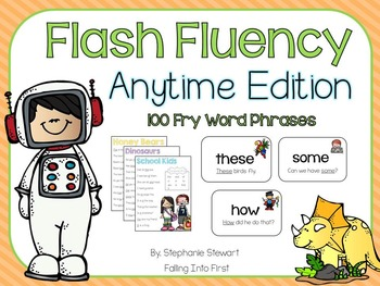 FLASH FLUENCY: Anytime Fluency