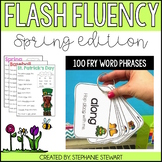 Sight Word Fluency Flashcards (Spring)