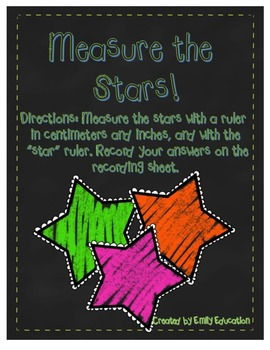 Measure the Stars Math Center