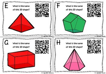 QR Code Hunt - 3D Shapes