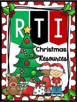 Nonsense Word Fluency Pack by Ms. Lendahand (Christmas Theme)