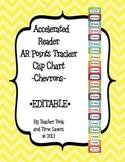 Accelerated Reader (AR) Points Club Clip Chart - EDITABLE!