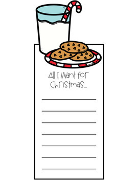 All I Want for Christmas Lists