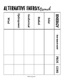 Alternative Energy Resource Note/Research Template