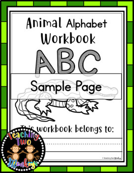 Animal Alphabet (Phonics & Science) (Easy Prep) Habitats, Workbook