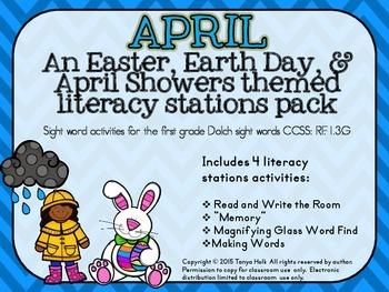April Literacy Mini Packet