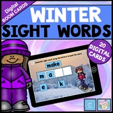 BOOM CARDS ELA Winter Sight Words