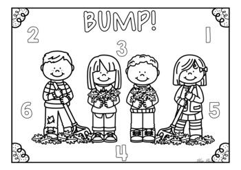 BUMP! Fall/Autumn Theme Game Board