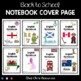 Back to school - Notebook Cover Pages