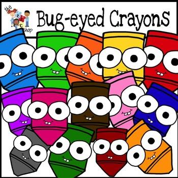 Bug-Eyed Crayons