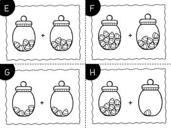 Candy Corn Addition Task Cards {Print & Go + Digital}
