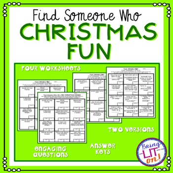 Christmas - Find Someone Who