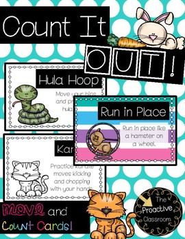 Count It Out Cards --Movement and Counting / Brain Break