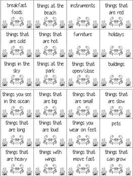 Crabby Categories