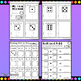 Dice Worksheets for Math Centers