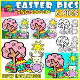 Easter Pictures Clip Art Set