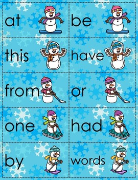 Fry's 1st 100 Sight Word Cards