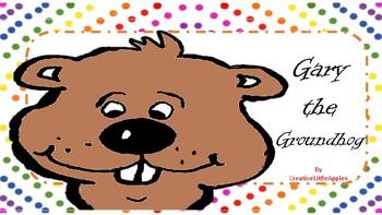 ***PreK and Kinder :) FREEBIE - Gary the Groundhog *Updated