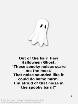 Halloween Ghost Story and Literacy Activity