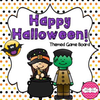 Halloween Themed Board Game