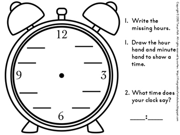 Hickory, Dickory, Dock...Can you tell the time on that clock?