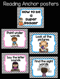 How to be a super reader anchor posters!