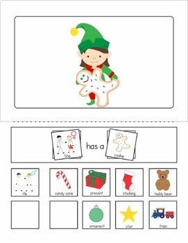 Interactive Sentence Flips - Pronouns - Holiday
