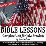 Patriotic Themed Bible Lessons, Complete Unit
