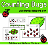 Ladybug Counting Mats | Exploring Numbers 1-20