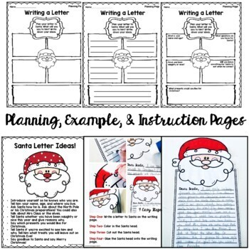 Letter to Santa Craftivity (Christmas Writing Craft)