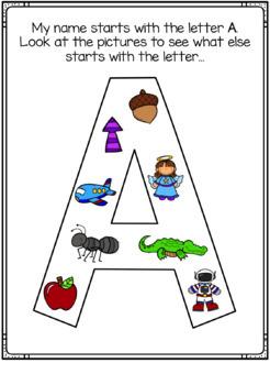Alphabet Letters Activity BUNDLE