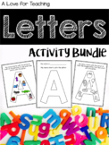 Alphabet Letters Activity BUNDLE