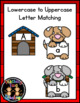 Lost Puppies Letter Match File Folder Literacy Center Activity