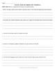 Middle School Reading Response Questions (Grade 6-8 Bundle)