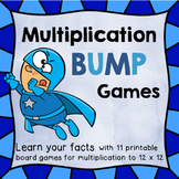 Multiplication Bump Games Facts 2 - 12