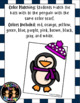 Penguin Shapes and Colors Matching Activities
