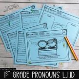First Grade Personal, Possessive & Indefinite Pronouns L.1.1D