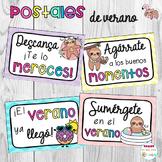 Postales de verano End of the Year Summer Postcards