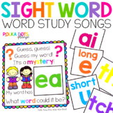 Sight Word Songs for Word Study