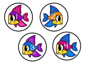 Splash! Number Games (0-21)