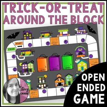 Trick Or Treat Around The Block Open-Ended Game