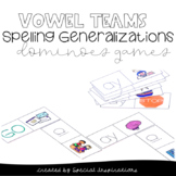 Vowel Teams Spelling Generalizations Dominoes Games