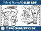 Kids of the World Clip Art