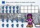 Winter Math BOOM CARDS Making Numbers 11 to 20